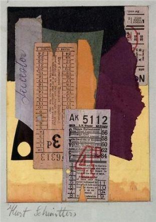 Kurt Schnitters - Untitled.